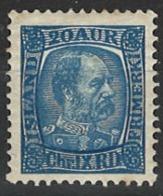 Iceland Island 1902. Mi 41, MNH - Nuevos