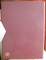 LEUCHTTURM - ETUI De PROTECTION Pour CLASSEUR LZS 4/16 N (32 Pages) En Simili Cuir Rouge (KA LZS 16 R) - Albums à Bandes