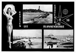 West-Vlaanderen  Blankenberge  Groeten Uit Blankenberge Souvenir De 58     Barry 3118 - Blankenberge