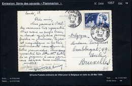 MAURY N° 1057: FLAMMARION    - S/FACTURE DU 2/7/1957 - Storia Postale