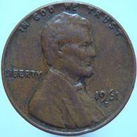 LaZooRo: United States Of America 1 Cent 1961 D XF - Emissioni Federali
