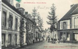 CPA 61 Orne Les Aspres - Route De Moulins - Au Gagne Petit - Hotel - France