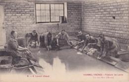 Val-des-Bois Harmel Frères Filature De Laine Lavoir Chaud - Francia
