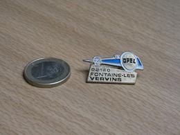 AUTOMOBILE OPEL . FONTAINE LES VERVINS 02140 AISNE. - Opel