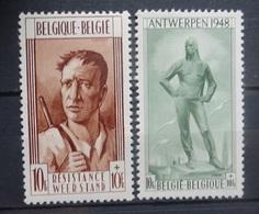 BELGIE 1948    Nr. 785 - 786      Postfris **   CW 75,00 - Belgium
