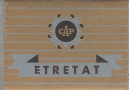 Pochette De Photos Miniatures Etretat (Seine-Maritime 76) - Photos