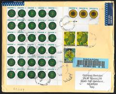 Singapore: Raccomandata, Registered, Recommandé - Singapore (1959-...)