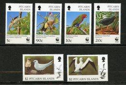 Pitcairn, Yvert YT 472/477**, Scott 457/462**, MNH - Timbres