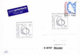 Italien Sonderstempel Isernia - Zwiebel, Cipolla - 2001-10: Marcophilie