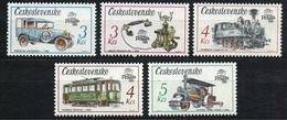 1987 Czechoslovakia MNH - Mi 2911-2915 ** MNH - Ungebraucht