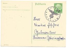SK613 - POSTAMT SENHEIM A - 1940 - CERNAY - Griffe Caoutchouc Provisoire - Gummistempel - Haut Rhin - - Marcophilie (Lettres)