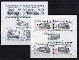1987 Czechoslovakia MNH - Mi 2912-2913 Block 70-71 ** MNH - Ungebraucht