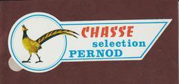 Autocollant -  CHASSE . Séléction  PERNOD - FAISAN - Stickers