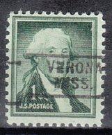 USA Precancel Vorausentwertung Preo, Locals Mississippi, Verona 729 - Vereinigte Staaten