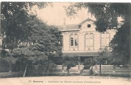 Cpa 89  Auxerre Intérieur Ecole Normale D'institutrices - Auxerre