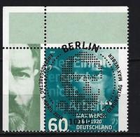 BUND Mi-Nr. 3071 Eckrandstück Links Oben Gestempelt - BRD