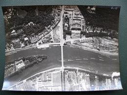 Photo Aérienne Professionnelle SEVRES Manufacture BOULOGNE BILLANCOURT Ile SEGUIN Seine Poids Et Mesures Années 60 - Places