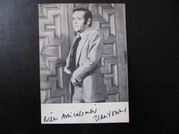 Carte Autographe - JEAN YANNE - BIEN AMICALEMENT - Autographes