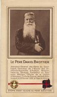 Reliquaire étoffe Ayant Touché Au Père Brottier Missionnaire Au Senegal Légion D'honneur Père Du Saint Esprit - Religión & Esoterismo