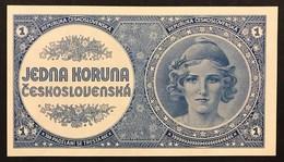 Czechoslovakia 1 Korun 1946 Pick#58  UNC Fds Lotto.3046 - Cecoslovacchia