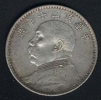 China, 1 Dollar Jahr 10 (=1921), Silber, Original - China