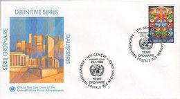 UN Genf Nr.164 FDC Freimarke - FDC
