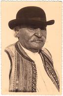 BANAT - COMUNA SECUSIGIU - ARAD : TYPES DU VILLAGE / COSTUMES - CARTE VRAIE PHOTO / REAL PHOTO POSTCARD ~ 1930 (ad420) - Roumanie