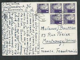 Allemagne , Zone D'occupation Soviétique , Emission Générale Gerhart  Hauptmann - Zone Soviétique