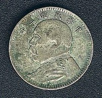 China, 10 Cents Jahr 3 (=1914), Silber, Original - China