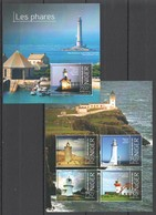 ST2837 2013 NIGER MARINE LIFE LIGHTHOUSES LES PHARES KB+BL MNH - Faros