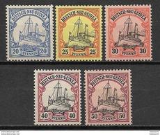 Germany Colony New Guinea 1900/08 MNH - Colony: German New Guinea
