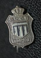 "Insigne De Col Ancien De Football ""Royal Racing Club De Bruxelles - 1891/1941"" Soccer Pin - Habillement, Souvenirs & Autres"