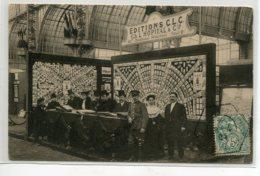 75 PARIS Avril Mai 1904 1 Ere Exposition De La Carte Postale Illustrée Stand  Editions CLC  CACHET Coté Vue   D20 2019 - Expositions