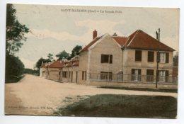 60 ST SAINT MAXIMIN La Grande Folie Batiments Couleur 1916 écrite Timbrée -   Lib Guibert   D20 2019 - Otros Municipios