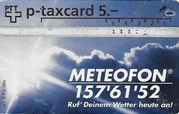 Switzerland: PTT P - KP-94/444 409L Meteofon - Schweiz