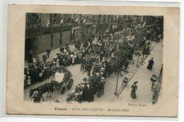 70 VESOUL Fete Des Fleurs 20 Juillet 1913 Cortege Rue Ville Vue Haute Edit Sauget    écrite    D20 2019 - Vesoul