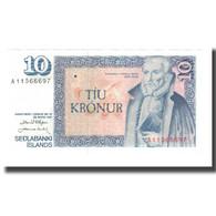 Billet, Iceland, 10 Kronur, L.1961 (1981), 1961-03-29, KM:48a, NEUF - Islande