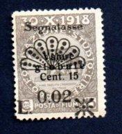Fiume - Segnatasse - 1921 -  0,02 - Su 15 Nuovo - Croazia