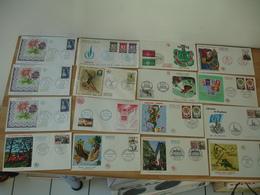 Lot 83 Fdc Enveloppe 1 Er Jour Annees 60 - Cartes-Maximum