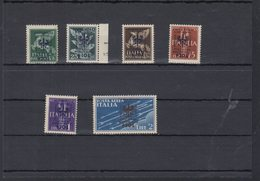 Dt. Reich Besetzung Laibach Lot Postfrisch/teilw. Rand Angeklebt - Occupation 1938-45