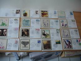 Lot 41 Fdc Enveloppe 1 Er Jour Annees 80 - Cartes-Maximum