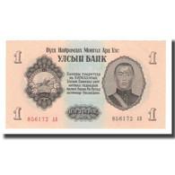 Billet, Mongolie, 1 Tugrik, 1955, KM:28, NEUF - Mongolie