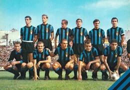 Cartolina Sport Calcio - F. C. Internazionale - 1966/67 - F/G - N/V - Calcio
