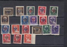 Dt. Reich Besetzung Laibach Lot Postfrisch/teilw. Rand Angeklebt(5) - Besetzungen 1938-45