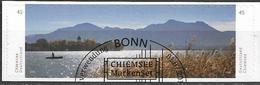 2015 Deutschland  Allem. Fed. Germany  Mi. 3167-8 Used Bo. Blick über Den Chiemsee Mit Der Fraueninsel Und Den östlichen - Gebruikt