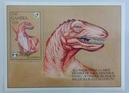 Gambia 1992** Mi.Bl.162. Dinosaur, MNH [7;41] - Briefmarken