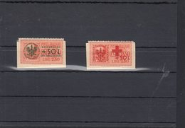 Dt. Reich Besetzung Laibach Lot Geklebt Auf Papier (7) - Occupation 1938-45
