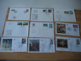 Lot 79 ( ) 35 Et 44 Fdc Enveloppe 1 Er Jour Annees 80 Et 70 - Autres - Europe