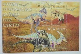 Bequia 2005** Mi.Klb.459-62. Dinosaurs, MNH [3;4] - Briefmarken