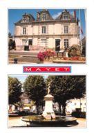 Mayet (72) - Espace Lichtenau - Fontaine - Multivues - Mayet